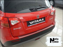 NataNiko Накладка с загибом на бампер Suzuki VITARA 2015-