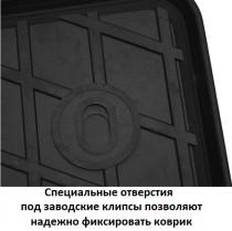 Stingray Коврики резиновые VW  Passat B8 2014-/ SKODA Superb III 2015- передние