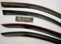 Дефлекторы окон  Mitsubishi Outlander 2012- TT
