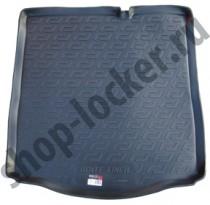 L.Locker Коврик в багажник Citroen C-Elysee SD/Peugeot 301 SD 2012- полимерный