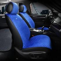 Elegant Универсальные накидки на сидения Palermo синие передние