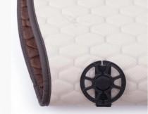 Elegant Универсальные накидки на сидения Palermo темно-коричневые передние