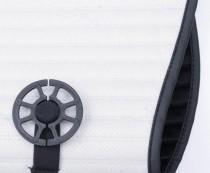 Elegant Универсальные накидки на сидения Palermo черные передние