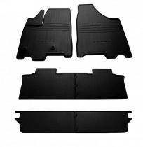Stingray Коврики резиновые Toyota Sienna 2010- 7 мест (6 ковриков)