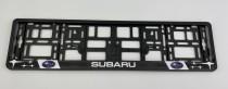 Carmotion Рамка под номерные знаки Subaru