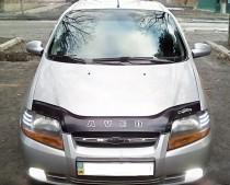 Дефлектор капота Chevrolet Aveo 2003-2006 SD/2003-2008 HB VT