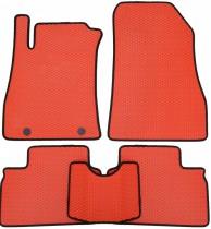 Beltex Eva коврики в салон Nissan Juke 2010- (красные)
