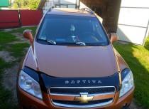 Дефлектор капота Chevrolet Captiva  2006-2011 Vip Tuning