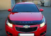 Дефлектор капота Chevrolet Cruze 2009- Vip Tuning