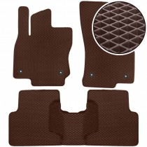 Beltex Eva коврики в салон Volkswagen Tiguan 2015- (коричневые)