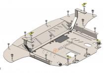 Кольчуга Защита двигателя Hyundai Tucson 2015-