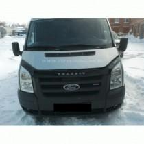 Дефлектор капота Ford Transit  2007-2012 Vip Tuning