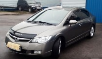 Дефлектор капота Honda Civic 2006-2012 sd Vip Tuning