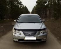Дефлектор капота Hyndai Sonata NF 2004-2010  VT52