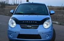 Дефлектор капота Kia Picanto 2007-2011 Vip Tuning