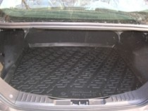 Коврик в багажник Ford Focus 2011- sedan полимерный L.Locker