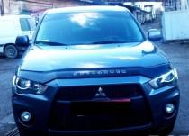 Дефлектор капота Mitsubishi Outlander XL 2009-2012 Vip Tuning