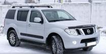 Дефлектор капота Nissan Pathfinder (R52) 2012- Vip Tuning