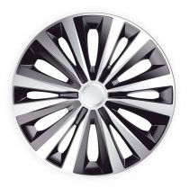 J-TEC (Jacky Auto Sport) Колпаки Multi Silver&Black R14