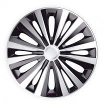 J-TEC (Jacky Auto Sport) Колпаки Multi Silver&Black R16
