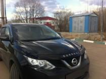 Дефлектор капота Nissan Qashqai 2014- Vip Tuning
