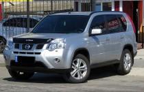 Дефлектор капота Nissan X-Trail 2007-2014 короткий  Vip Tuning