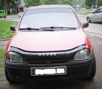 Дефлектор капота Opel Corsa B 1993-2000 Vip Tuning