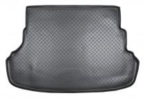 Nor-Plast Коврик в багажник Hyundai Accent 2010- sedan резино-пластиковый