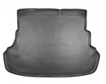 Nor-Plast Коврик в багажник Hyundai Accent 2010- со складными сидениями резино-пластиковый