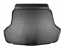 Nor-Plast Коврик в багажник Hyundai Sonata (LF) sedan 2017-2019 (без выступа под запаску) резино-пластиковый