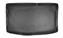 Nor-Plast Коврик в багажник Hyundai i20 2008-2014 резино-пластиковый
