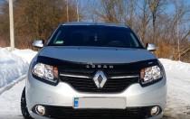 Дефлектор капота Renault Logan 2013- Vip Tuning