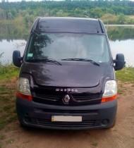 Дефлектор капота Renault Master 2003-2010 Vip Tuning