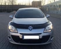 Дефлектор капота Renault Meganе III 2008-2014 Vip Tuning