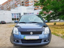 Дефлектор капота Suzuki Swift III 2004–2010 Vip Tuning