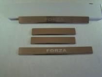 Накладки на пороги ZAZ FORZA NataNiko