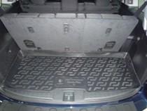 Коврик в багажник Honda Pilot 7 мест. полимерный L.Locker