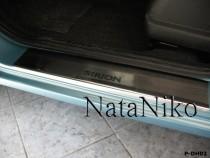 NataNiko Накладки на пороги DAIHATSU SIRION 2008-