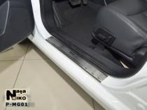 NataNiko Накладки на пороги MG 350 2012-