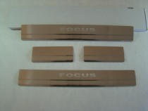 Накладки на пороги FORD FOCUS II 2005-2010 NataNiko