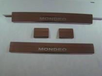 Накладки на пороги FORD MONDEO IV 2007-2014 NataNiko