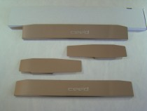 NataNiko Накладки на пороги KIA CEED II 5D/CEED SW 2012-