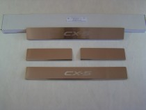 Накладки на пороги MAZDA CX-5 2012-