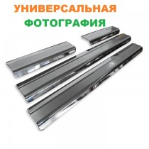 Накладки на пороги NISSAN X-TRAIL I (T30) 2001-2007 NataNiko