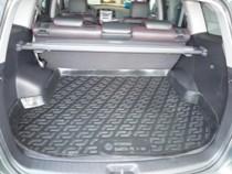 Коврик в багажник Hyundai Santa Fe 2006-2012 5 мест. полимерный L.Locker