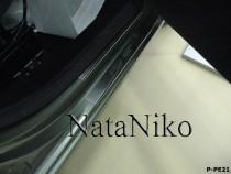 Накладки на пороги PEUGEOT PARTNER II 2008- NataNiko
