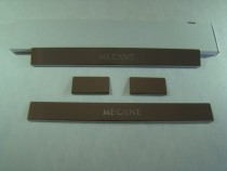 Накладки на пороги RENAULT MEGANE III GRANDTOUR 2009-