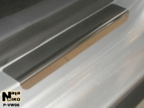 Накладки на пороги стальные VW GOLF PLUS 2004-2008/2009-