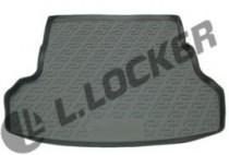 Коврик в багажник Kia Rio  sedan 2011-2015- полимерный L.Locker