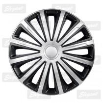 Колпак R16 TREND silver&black Elegant